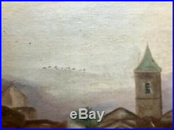 1910s French Oil Painting on canvas