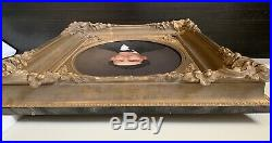 19th century oil painting on canvas portrait man antique American School