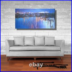 ABSTRACT PAINTING MODERN CANVAS WALL ART Large, Framed, Signed, US ELOISExxx