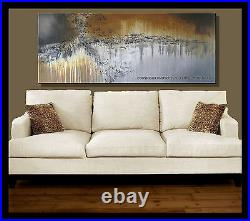 Abstract Painting Modern Canvas Wall Art, Large, Framed, US, ELOISE WORLD STUDIO