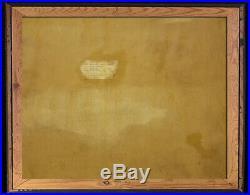 Alfred Hair (Florida Highwaymen 1941 1971) Oil On Canvas-Signed Provenance