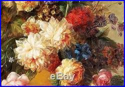 Antique Style Floral, #5, 24x36 100% Hand painted Oil Painting on Canvas