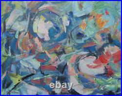 Art Original Oil Painting by RM Mortensen Landscape Abstract Expressionism