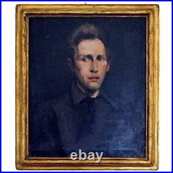Ashcan School Oil Painting George Wesley Bellows Authenticated