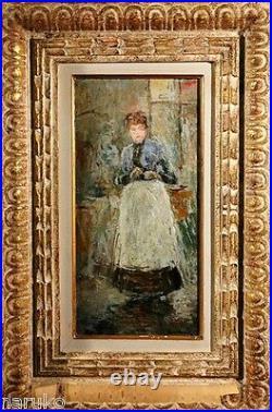 Berthe Morisot Fully Guaranteed Oil Painting Good Provenance
