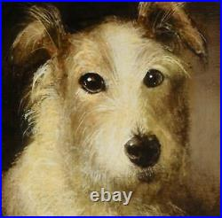COMMISSION Smaller DOG PORTAIT Oil painting of a pet canine by David Andrews