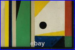 Charles Green Shaw original abstract oil painting on canvas