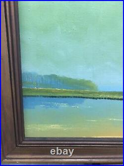 Dated 50year Old Signed Sam Newton Highwaymen 1971 Oil on Canvas