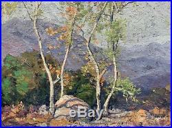 Edgar Payne (1883-1947) In The Arroyo Original California Painting