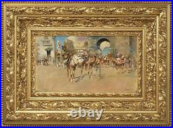 Edwin Lord Weeks Orientalist Cityscape SIGNED HD Pictures