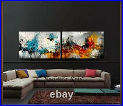 Extra Large Wall Art Abstract Acrylic Painting Office Contemporary Art Nandita