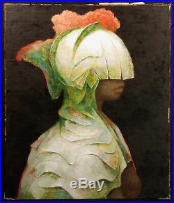 Guillermo Meza Nemesis Original Oil Painting Canvas Mexican Artist Make Offer