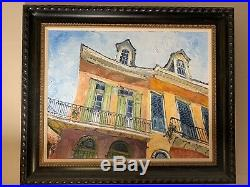 James Michalopoulos Original Oil Painting St. Philips Stand On Canvas