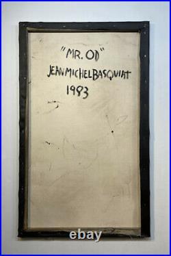 Jean-Michel Basquiat Painting Graffiti 80's street art