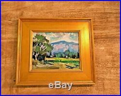 Jose Trujillo Framed California Impressionism Plein Air Original Oil Painting
