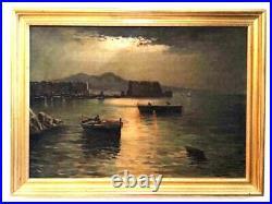 Masterful Original Antique Painting Giuseppe Musumeci (1902) LISTED Italian