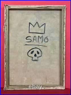Michel Basquiat oil painting on canvas, beautiful painting See item description