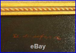 Original 19th Century Charles A. LeFebvre Signed French Harem Nude Oil on Canvas