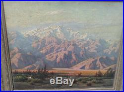 Paul Grimm California Landscape Oil Painting 20 x 24 Sunset
