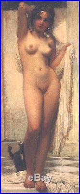 Perfact 24x48 oil painting handpainted on canvasBathing Woman@N5621
