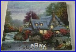 Thomas Kinkade Oil On Canvas 16x20 Miller's Cottage