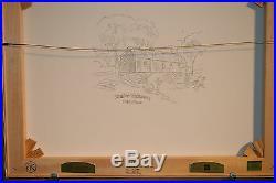 Thomas Kinkade Seaside Hideaway 18 x 24 Studio Proof Canvas 15 / 100
