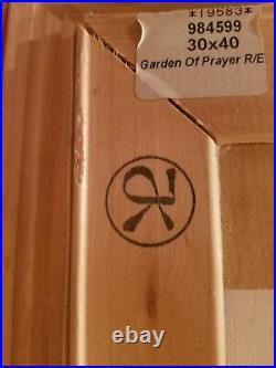 Thomas Kinkade The Garden of Prayer (Garden of Prayer I) Very Rare Epic Size