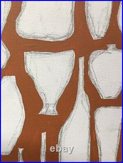 Vintage Modern Abstract Painting