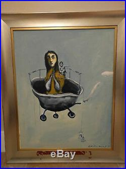Williams Carmona Cuban Art Painting Oil on Canvas
